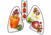 Food that promotes lung health.